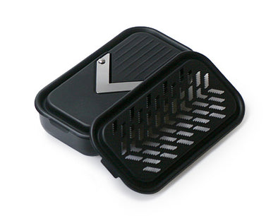 Black Series: Slicer & Grater Holder Set - Mimoto Japanese Homewares & Design