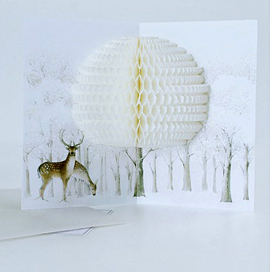 Reindeer Card - Mimoto Japanese Homewares & Design