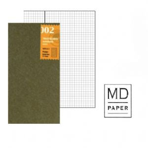 Traveler's Notebook 002 Grid - Mimoto Japanese Homewares & Design