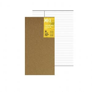 Traveler's Notebook 001 Lined - Mimoto Japanese Homewares & Design