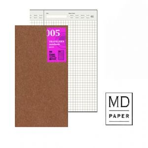 Traveler's Notebook 005 Large Size Diary Pages - Mimoto Japanese Homewares & Design