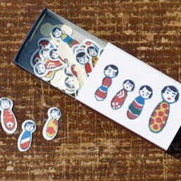 Small Seal Kokeshi Dolls - Mimoto Japanese Homewares & Design