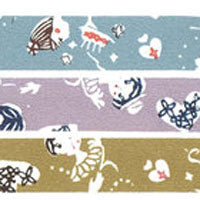 Masking Tape Girls 3 Color Set - Mimoto Japanese Homewares & Design