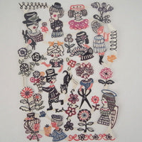 Mihoko Seki Sheet Seals - 'Happy Times' - Mimoto Japanese Homewares & Design
