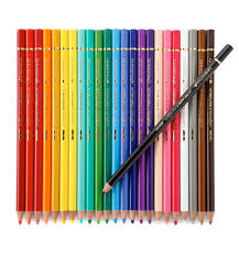 Palomino Aquarelle Pencil Artist Colour Wood Box Set of 24