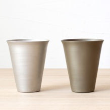Onami Tumbler Light Brown 110 - Mimoto Japanese Homewares & Design
