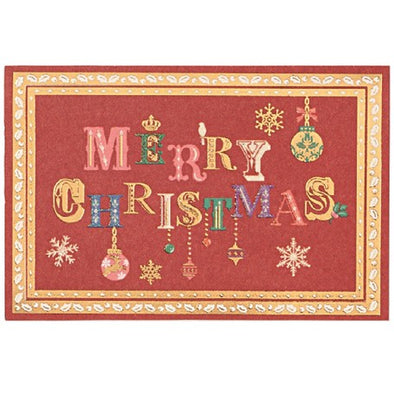 Christmas Embossed and Gilded Card