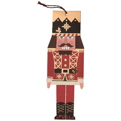 Nutcracker Ornament Animated Die Cut Card
