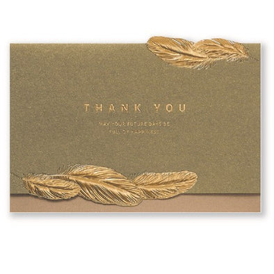 Thank You Embossed Card