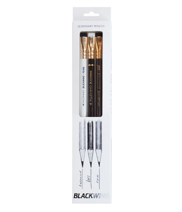 Palomino Hangsell Blackwing Pack of 3 Assorted - Mimoto Japanese Homewares & Design