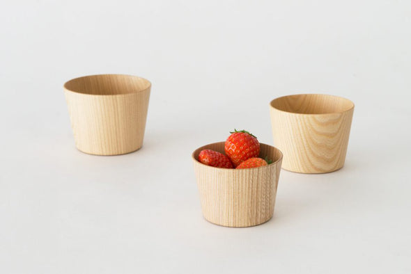 KAMI Glass Free Large Glass of Wood - Mimoto Japanese Homewares & Design