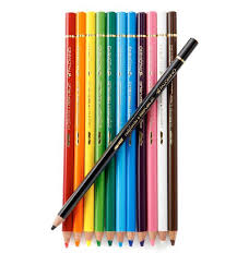 Palomino Aquarelle Pencil Artist Colour Wood Box Set of 12 - Mimoto Japanese Homewares & Design
