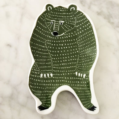 KATA KATA small dish L (bear) - Mimoto Japanese Homewares & Design