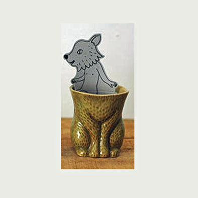 Furry Bear Mug KIYATA - brown