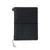 Traveler's Notebook Leather Passport Size Black - Mimoto Japanese Homewares & Design