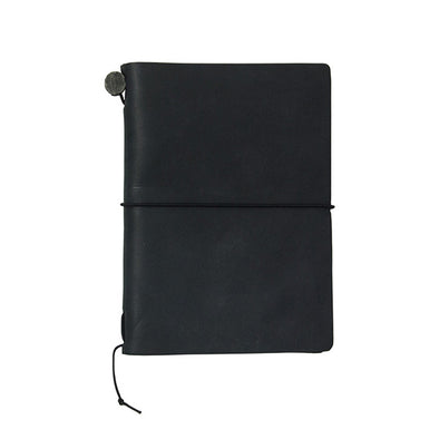 Traveler's Notebook Leather Passport Size Black