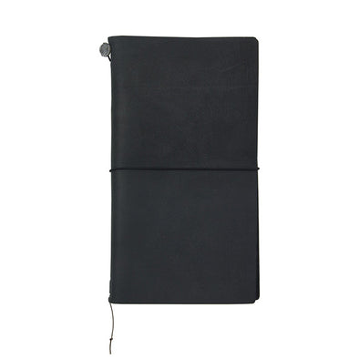 Traveler's Notebook Leather Large Black - Mimoto Japanese Homewares & Design