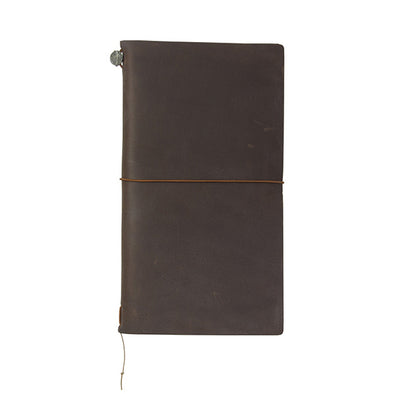 Traveler's Notebook Leather Large Brown - Mimoto Japanese Homewares & Design