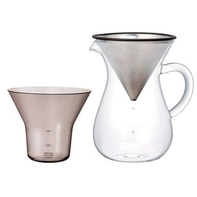 KINTO SLOW Coffee Style Set Stainless Steel - Mimoto Japanese Homewares & Design