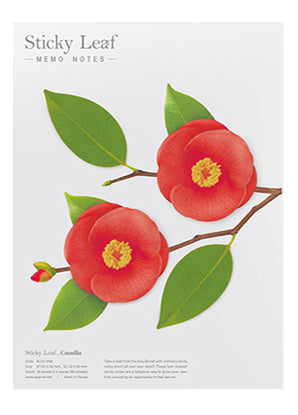 Sticky Notes Camellia Red