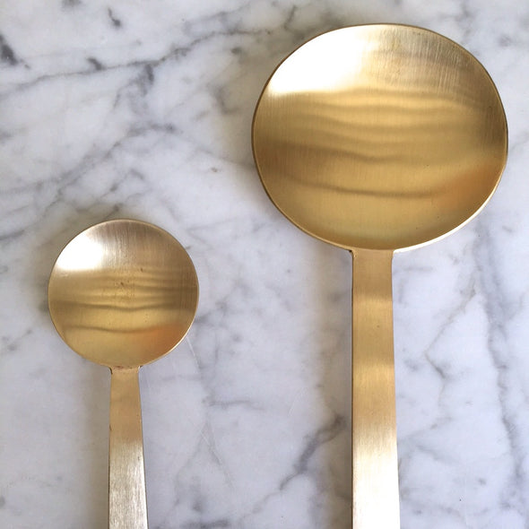 Brass spoons - Mimoto Japanese Homewares & Design
