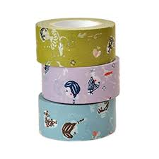 Masking Tape Girls 3 Colour Set - Mimoto Japanese Homewares & Design