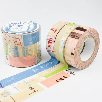 Graffiti A masking tape 3 color set