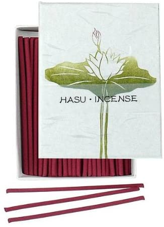 Natural Japanese Incense Sticks HASU Lotus