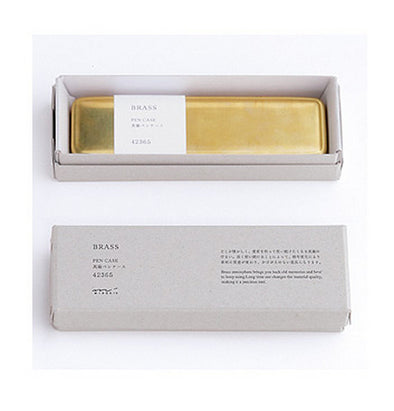 Traveler's Notebook Accessories Brass Pen Case - Mimoto Japanese Homewares & Design