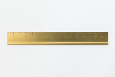 Traveler's Notebook Accessories Brass Ruler - Mimoto Japanese Homewares & Design