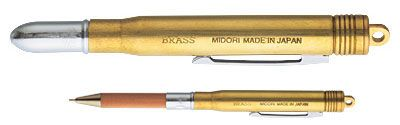 Traveler's Notebook Accessories Brass Pen - Mimoto Japanese Homewares & Design