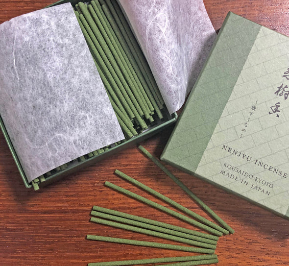 Incense NENJYU - elm and cedar notes