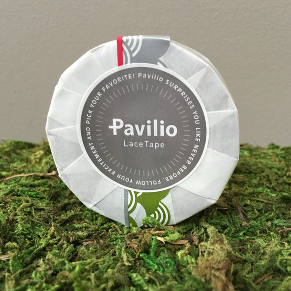 Pavilio Lace Tape Lace Tape Umi Silver - Mimoto Japanese Homewares & Design