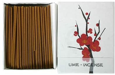 Natural Japanese Incense Stick UME Plum