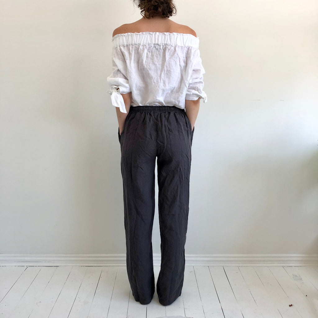 French Linen Unisex Pants