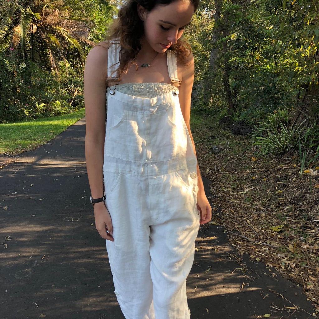 Rustic Linen Overall