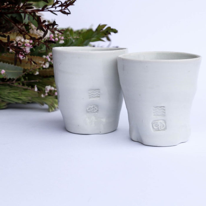 Ceramic porcelain cup