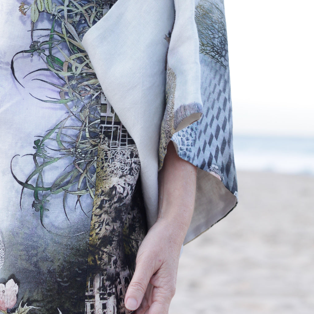 Kimono (wearable art or wall hanging)