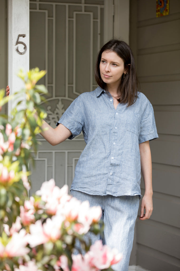 Unisex Lazy Linen Shirt - 4 colours
