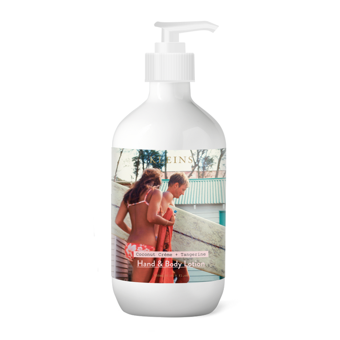 Surfer with Girl Hand Cream & Body Lotion 500ml