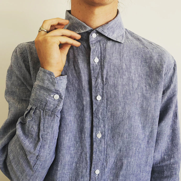 French Linen Shirt (Men/Women/Unisex)