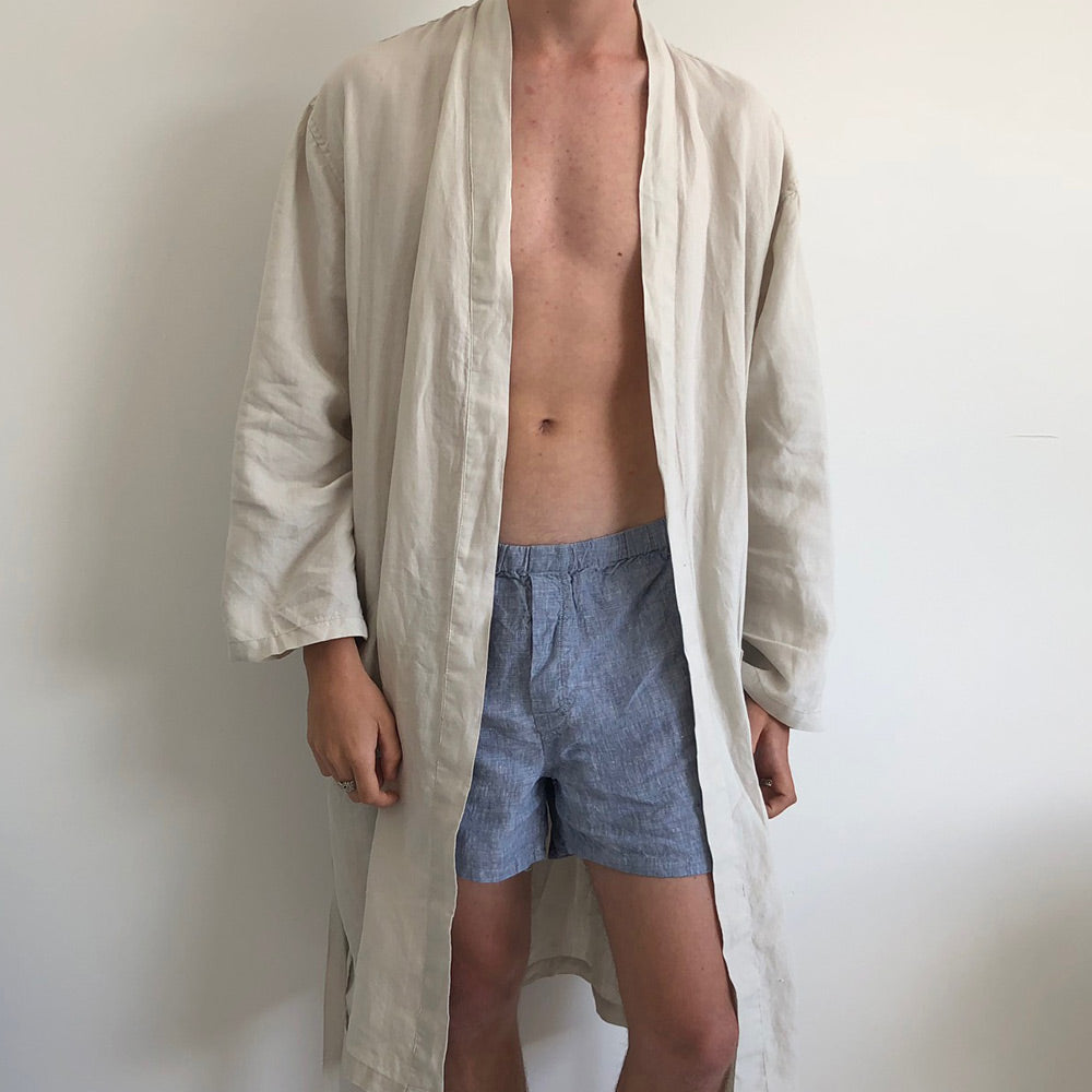 French Linen Boxer Short (Men/Women/Unisex)
