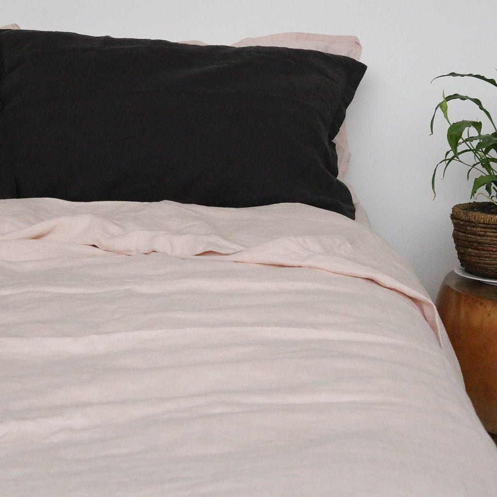 French Linen Duvet Cover Miss Molly Eco Lux