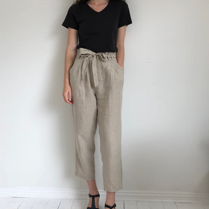 French Linen Women's Pants