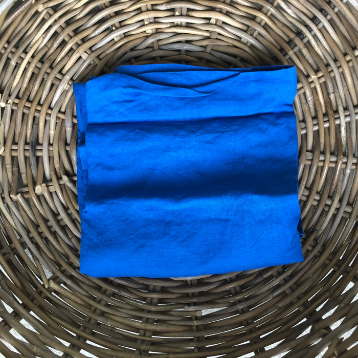 CLEARANCE: French Linen Pillow Case (Euro) - Victoria Blue