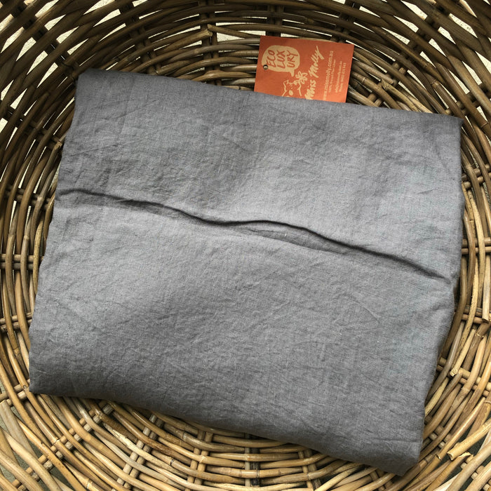 CLEARANCE : King Fitted Sheet - Willow Grey