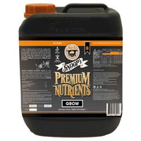 Snoop's Premium Nutrients Grow B Non-Circulating 5 Liter (Soil and Hydro Run To Waste) (4/Cs)