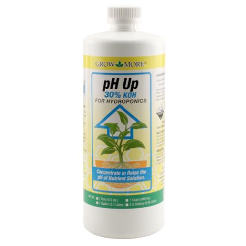 Grow More pH Up 30% Quart (12/Cs)