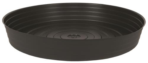 Gro Pro High Wall Black Vinyl Saucer 21 in (20/Cs)