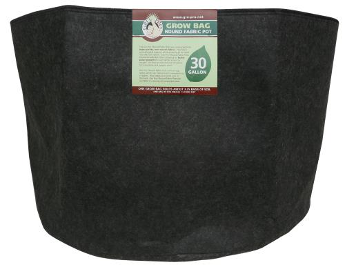 Gro Pro Premium Round Fabric Pot 30 Gallon (30/Cs)
